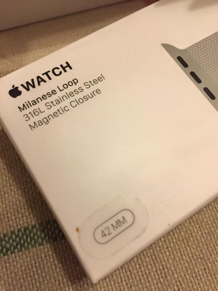 ขาย Apple watch รุ่น Stainless Steel Sport Black 42mm