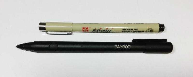 Bamboo Fineline 2 ปากกา stylus สำหรับ iPad (มือสอง)
