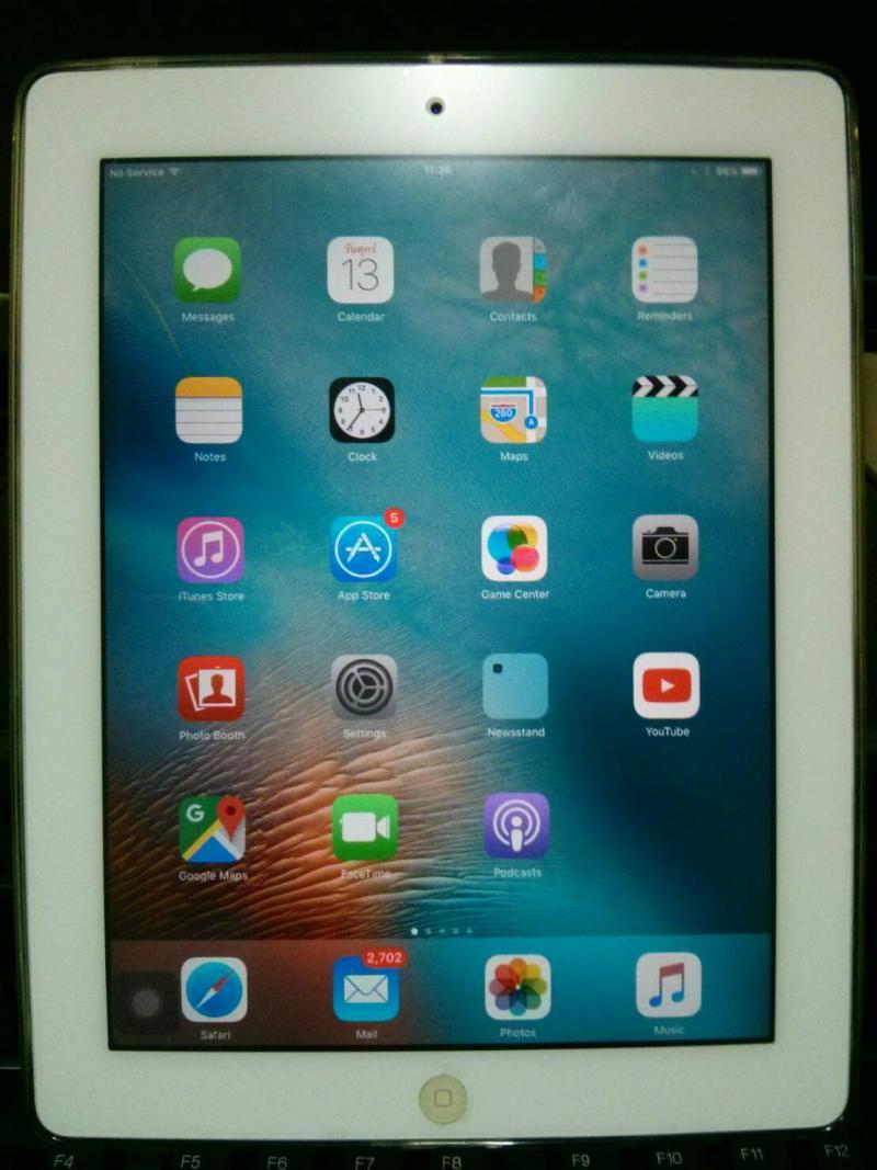 ขาย iPad 2 cellular+WiFi 32 gb สีขาว
