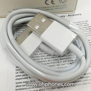 สายชาร์จไอโฟน APPLE 30-PIN TO USB CABLE (พร้อมกล่อง)