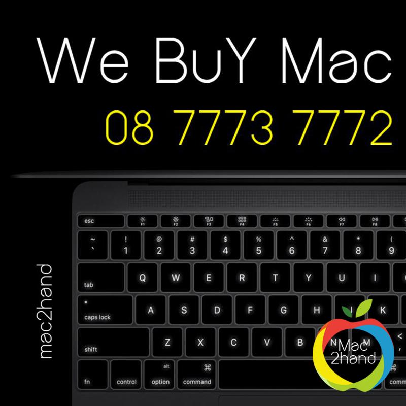 รับซื้อ-รับเทริน์-จำนำ-ขายฝาก Mac ทุกรุ่น