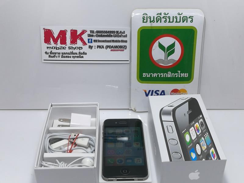 @@@@@ ขาย/แลก Iphone 4S 16 GB สีดำ สภาพดี ยกกล่อง