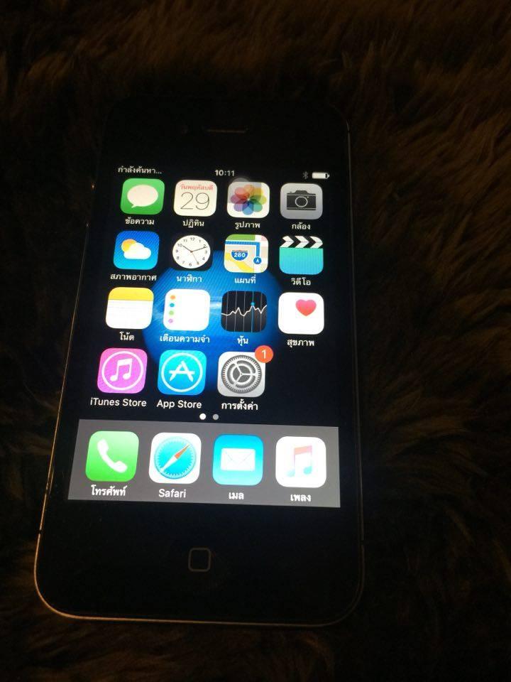 ขาย iPhone 4s 16GB  สภาพใหม่ใช้งานได้100%