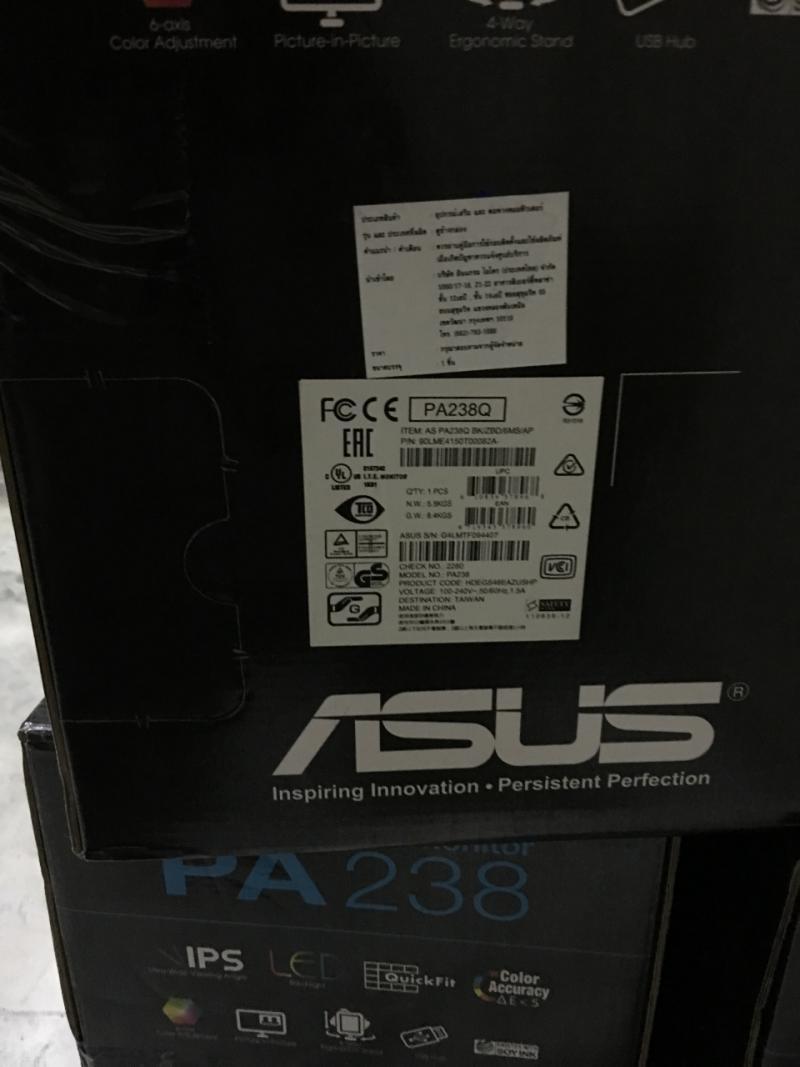จอเทพครับ ยังไม่เคยใช้งาน Led IPS Asus PA238Q