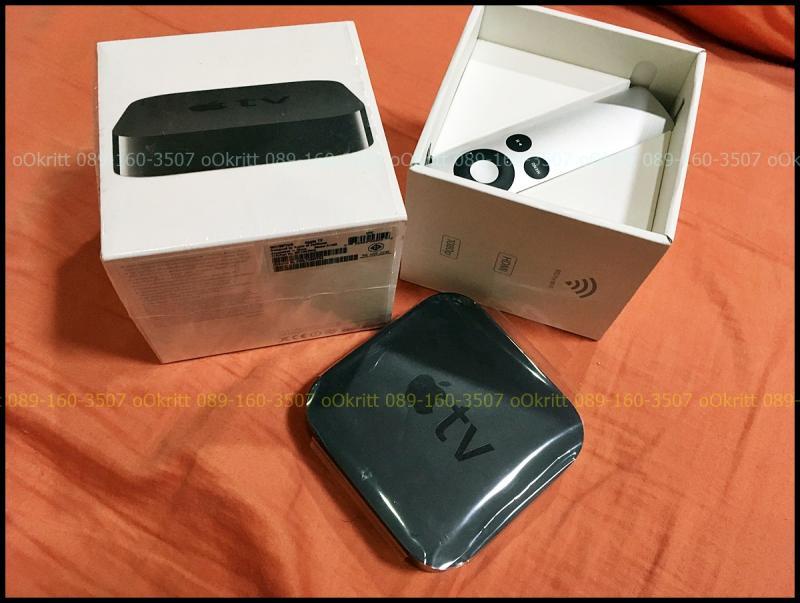 ขาย Apple TV (3rd generation) สีดำ ครบกล่อง สภาพสวย ราคาเบาๆ 2,500 บาทครับ