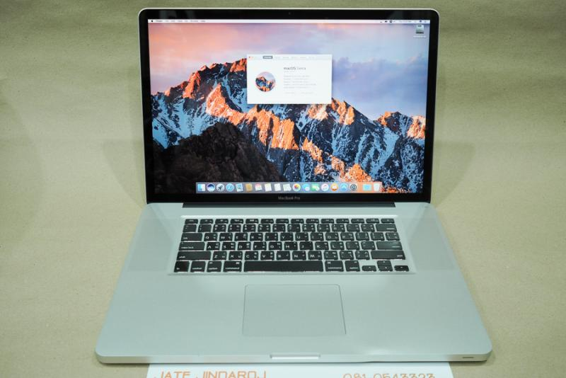 MacBook Pro 17-inch, Late 2011, CPU 2.4GHz i7 quad-core