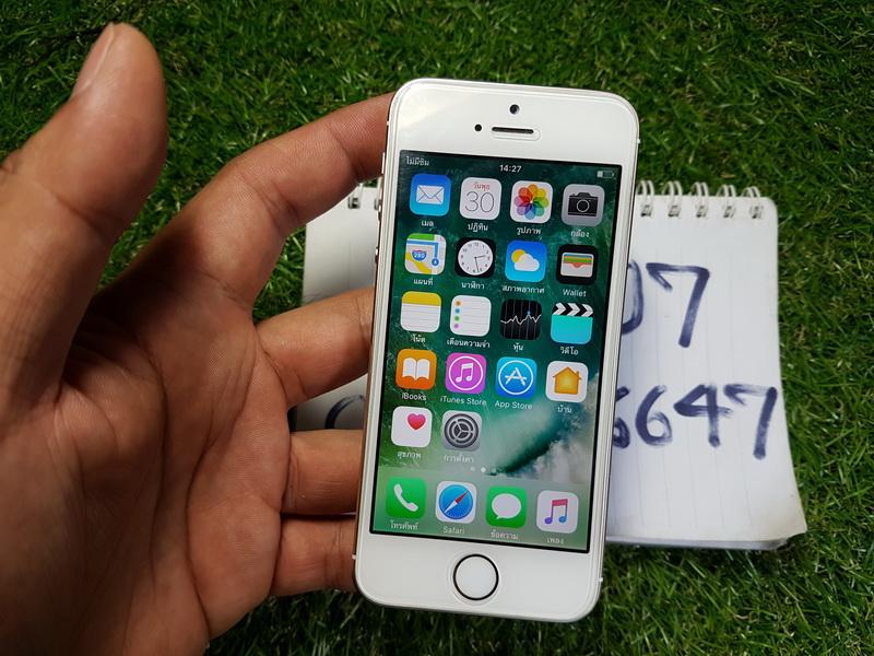 ขาย iPhone 5s สีทอง 64 GB มือ2 สภาพสวย 6900 บาท ครับ