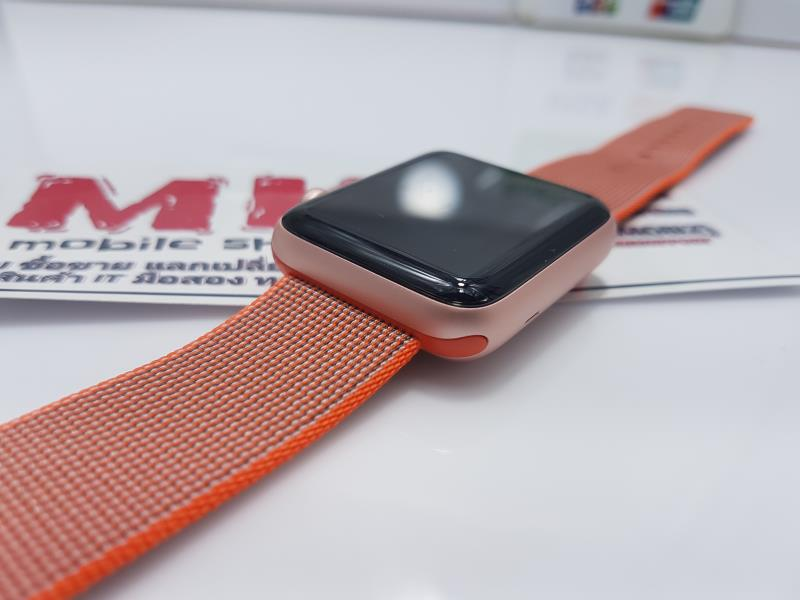 @@@@@ ขาย/แลก Apple Watch 42 mm SERIE 2 สาย Woven Nylon Space orange/Anthracite ศูนไทยยกกล่อง สภาพนางฟ้า