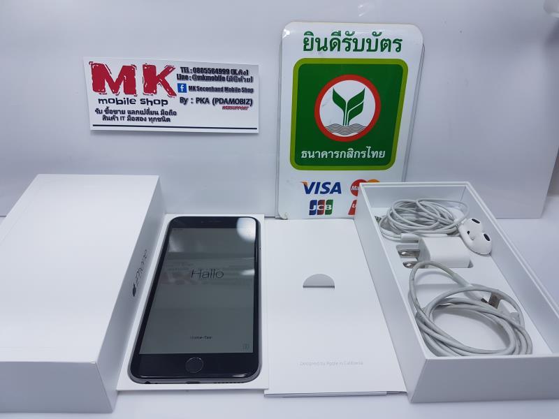 @@@@@ ขาย/แลก Iphone 6 Plus 64 gb สีดำ เครื่องไทย ยกกล่อง สภาพดี