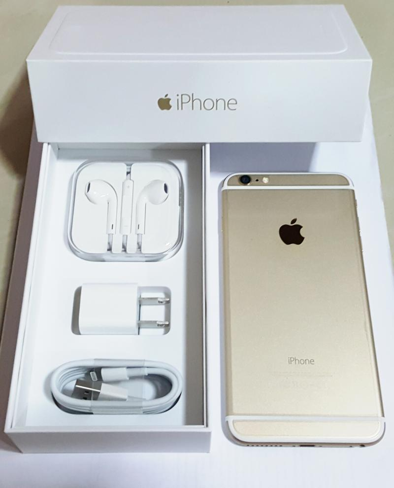 iphone 6 Plus 64 GB สีทอง อุปกรณ์แท้ ใหม่ยกกล่อง 15,000