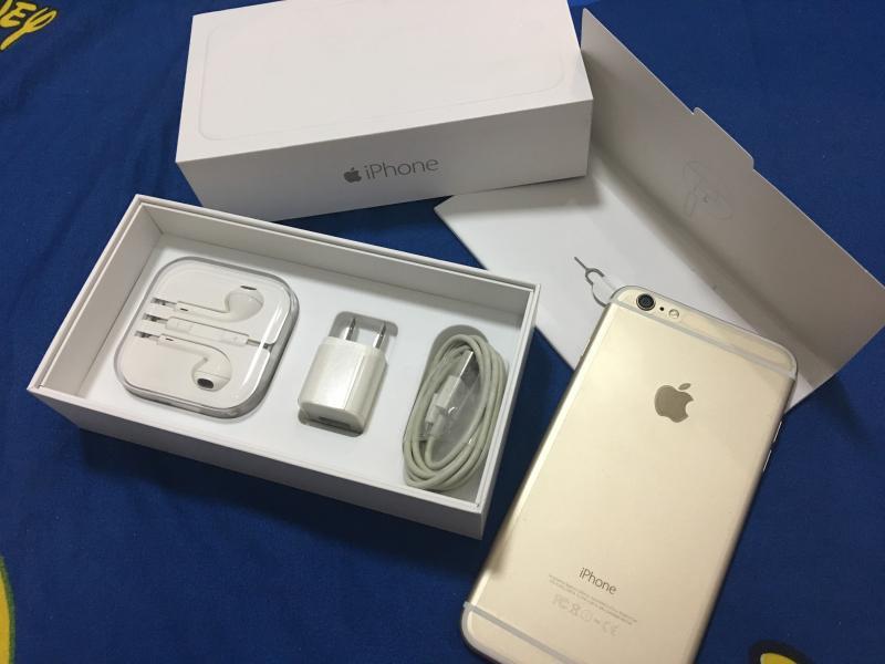 ขายiPhone 6 Plus 16 GB สีทอง ไร้รอยไดๆเหมือนใหม่