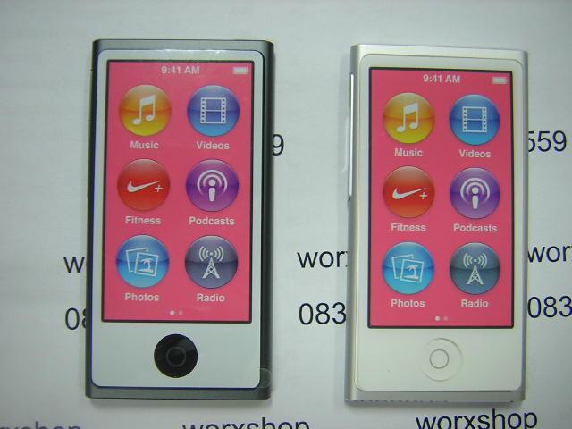 ขาย ipod Nano Gen7 16g สีเทา กับ น้ำตาล เครื่องใหม่ พึ่งเคลมมา