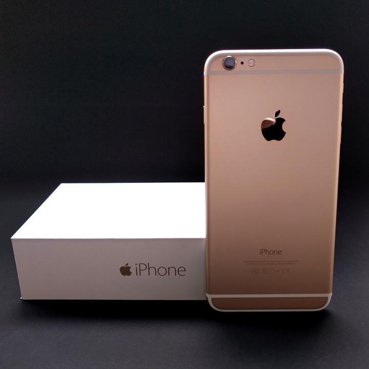 iPhone 6 Plus 64GB สีทอง ยกกล่อง สภาพนางฟ้า ไร้รอย เครื่องศูนย์ DTAC