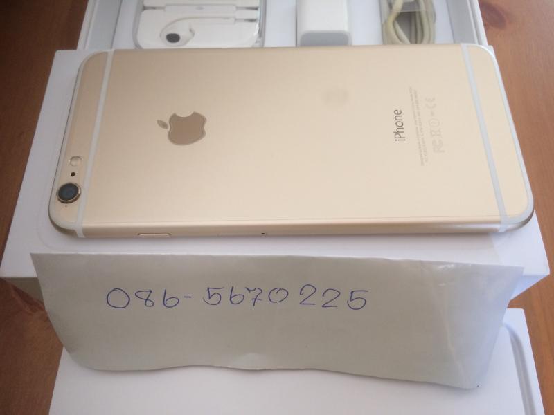 ขาย iphone 6 plus 128gb สีทอง ยกกล่อง