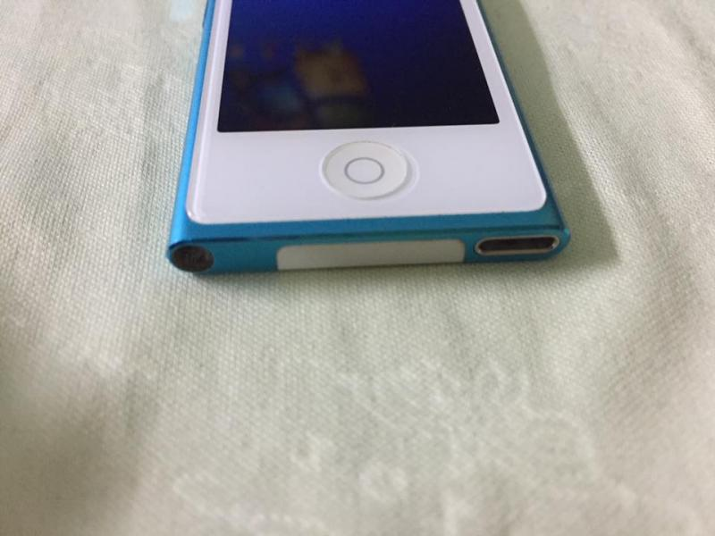 Ipod nano gen7  16 gb  สีฟ้า