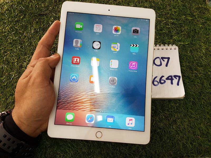 ขาย iPad Air 2 WiFi Cellular 64 GB สีทอง มือ2 สภาพสวย 13900 บาท ครับ