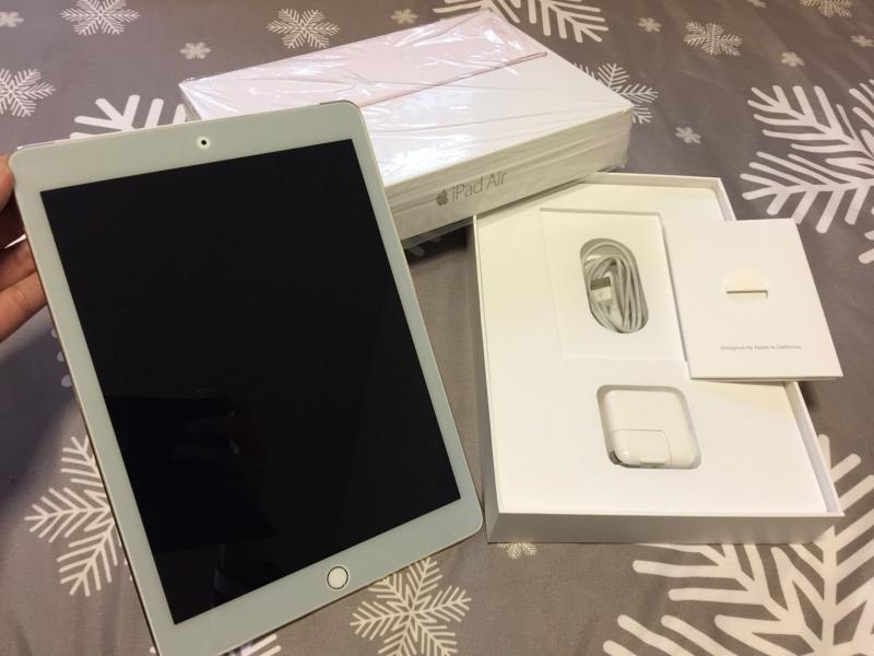 ขาย iPad Air2 wifi+cellular Gold 16g