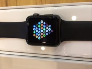 ขายApple watch 42 mm สีดำ