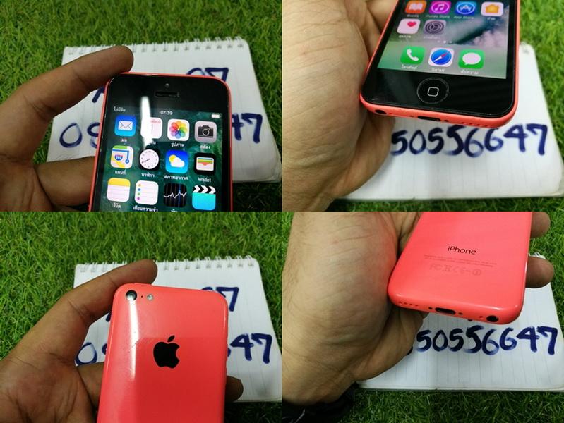 ขาย iPhone 5c สีชมพู 16 GB เครื่อง TH มือ2 สภาพดี 3900 บาท ครับ