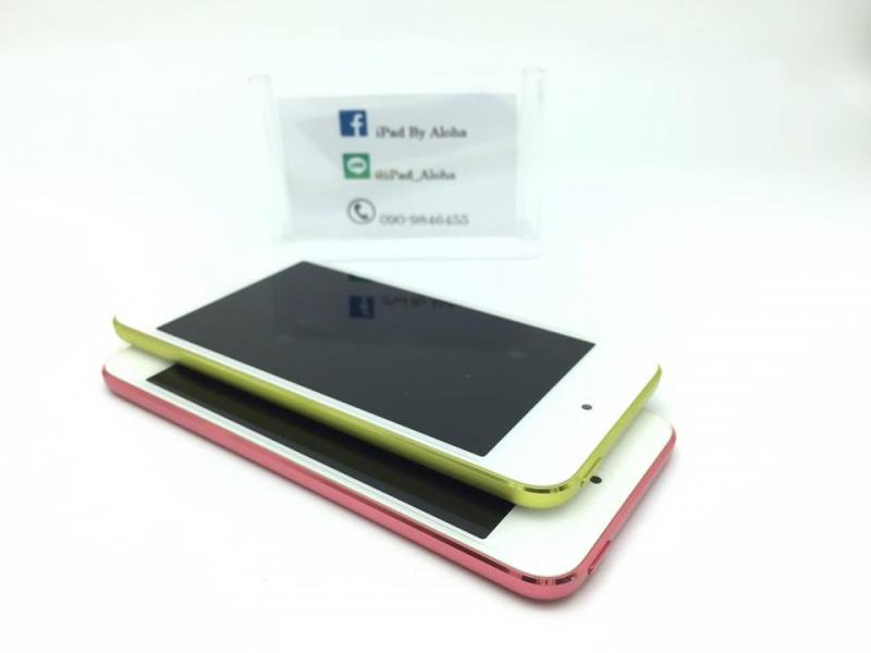 iPod Touch5 32g สีชมพูเเละเหลือง