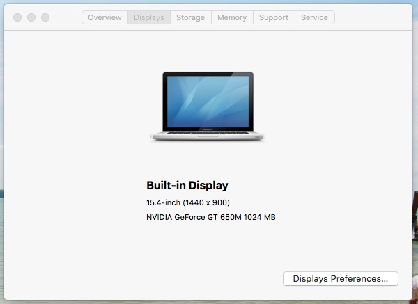 MacBook Pro 15-inch (mid2012) i7 2.6/8GB/1TB การ์ดจอแยก GT650M 1GB
