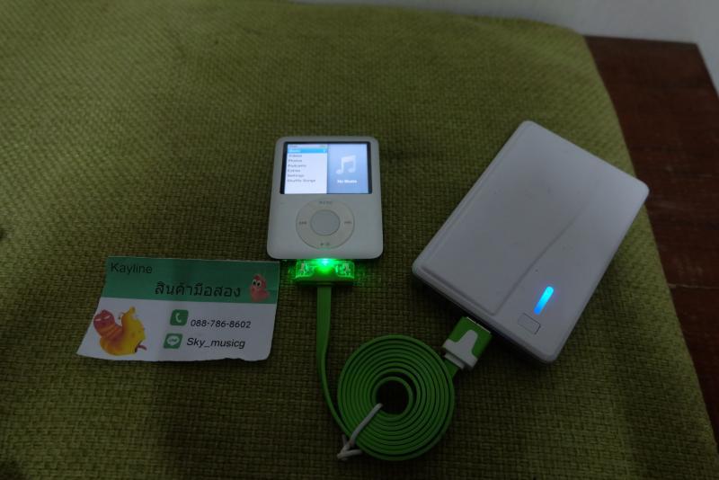 IPOD nano gen3 4GB สภาพใหม่ แบตเสื่อม