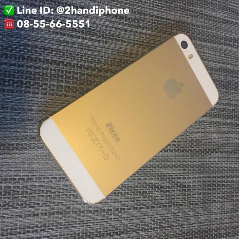 iPhone 5S 16GB สี Gold สภาพ 98 รับประกัน 30 วัน