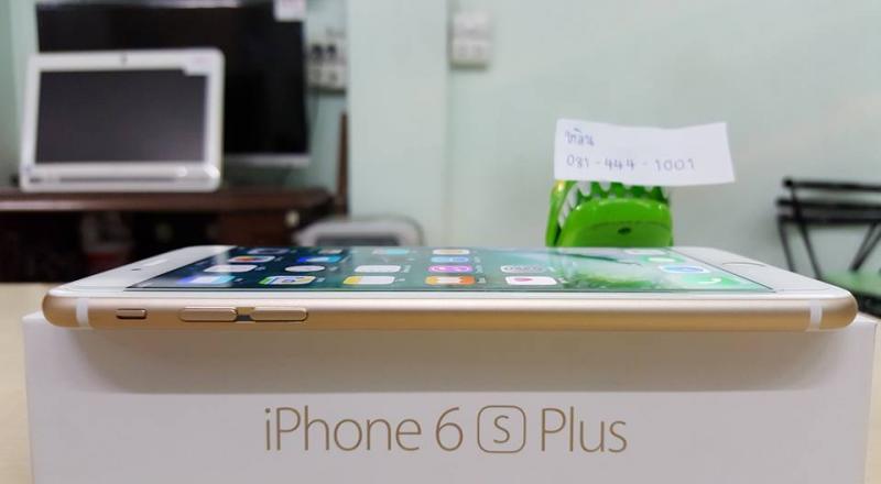 ขายด่วน iPhone 6S Plus 64 GB. สีทองสวยมาก อุปกรณ์ครบ