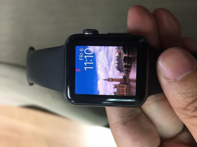 Apple Watch gray38mm เครื่องศูนย์ สภาพดี ราคาถูก