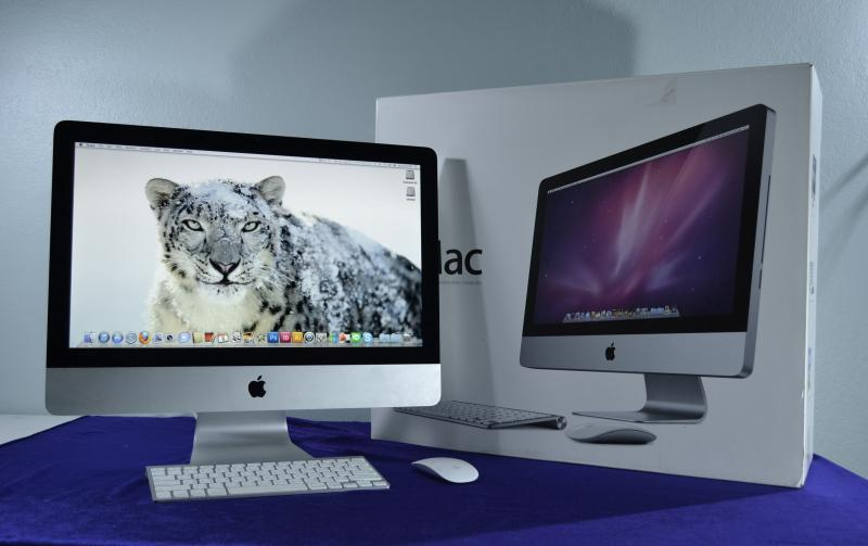 ขาย iMac 21.5-Inch (2011) มือสอง -ไม่รวม Magic Mouse และ Keyboard- Processor 3.06 GHz ( Core i3 ) Ram 8 GB / HD 500 TB