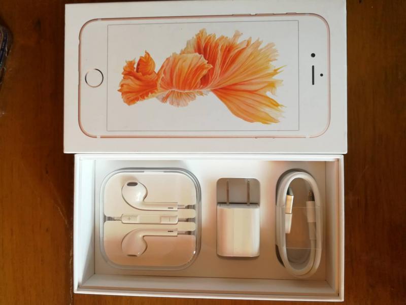 ขาย iphone6s 64G rose gold