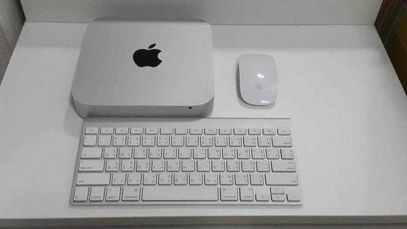 ขาย Mac Mini (Late2012) สภาพสวยอัพแรม 8G พร้อม Mouse , Keyboard