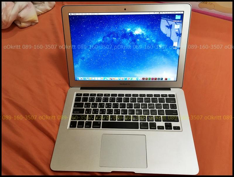 ของดี ของถูก MacBook Air 13นิ้ว i5 1.3GHz. แรม 4g ssd 128g ปี 2013 สภาพสวยพร้อมใช้งาน ถูกๆ เทรินได้ รับบัตรเครดิต