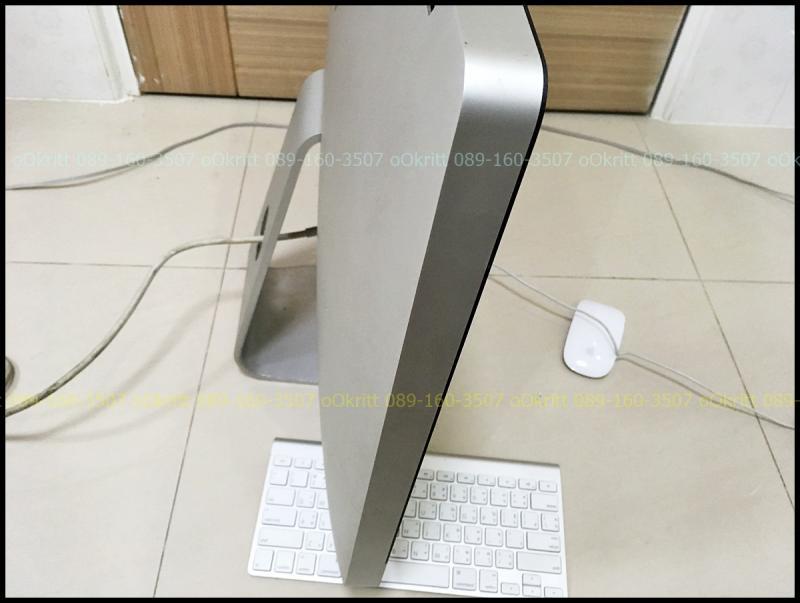 จอใหญ่สะใจ ขายถูกๆตามสภาพ iMac 27นิ้ว i5 2.7GHz RAM 4g HDD 1tb ปี 2011 จอมีเขม่าเหลืองเล็กน้อย พร้อมเม้าส์ คีบอร์ดไวเลส