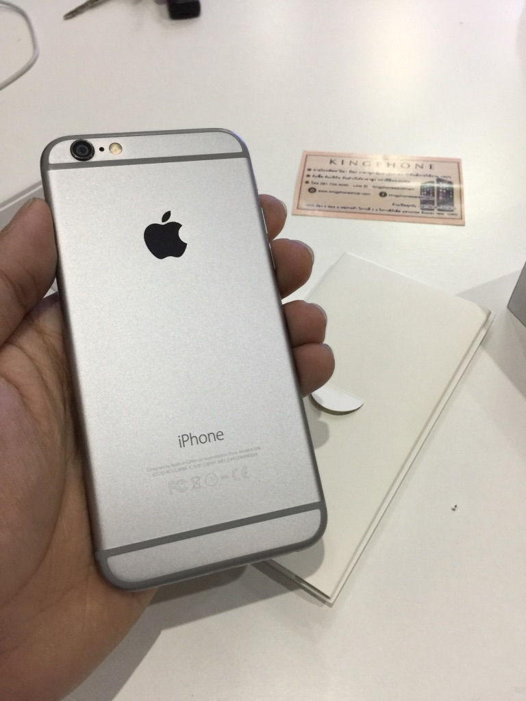 iPhone 6 64GB สีดำ สภาพสวยครบกล่อง ราคา 14,200