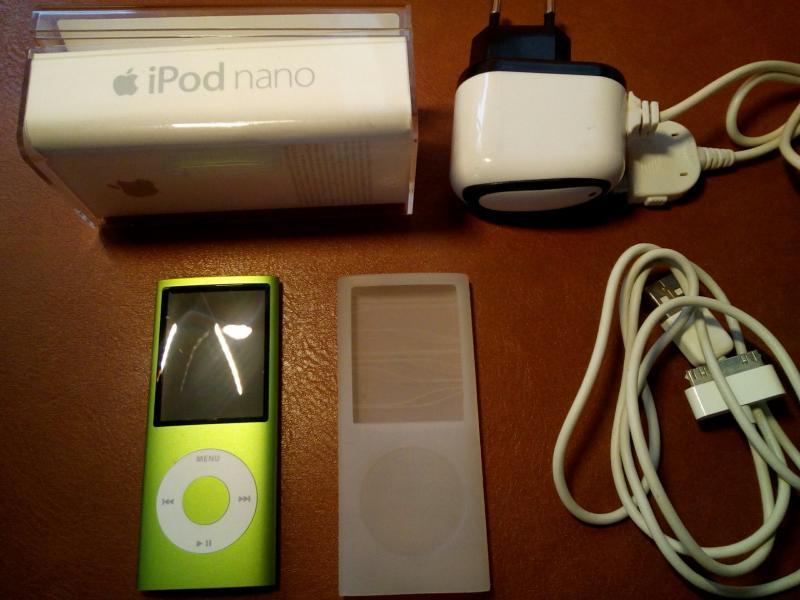 Ipod Nano gen4 Green