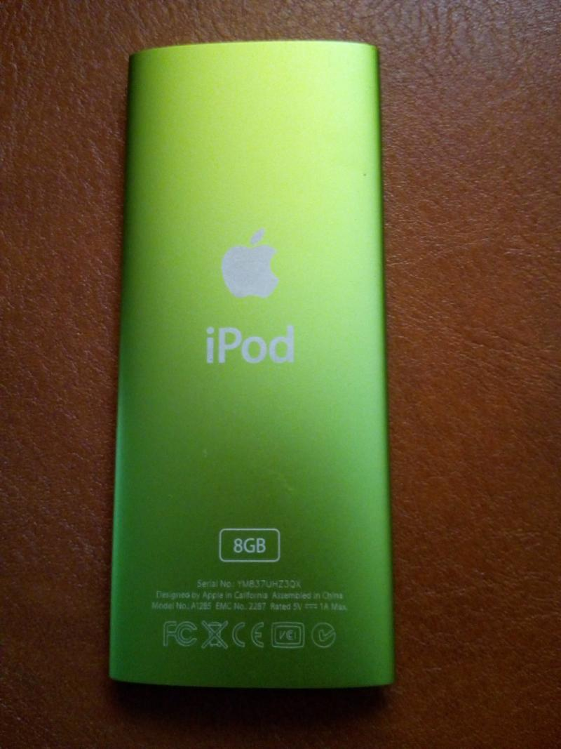 Ipod Nano gen4 Green