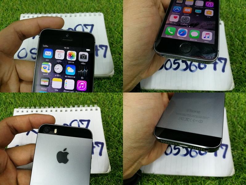 ขาย iPhone 5s สีดำ 16 GB มือ2 สภาพสวย 6900 บาท ครับ