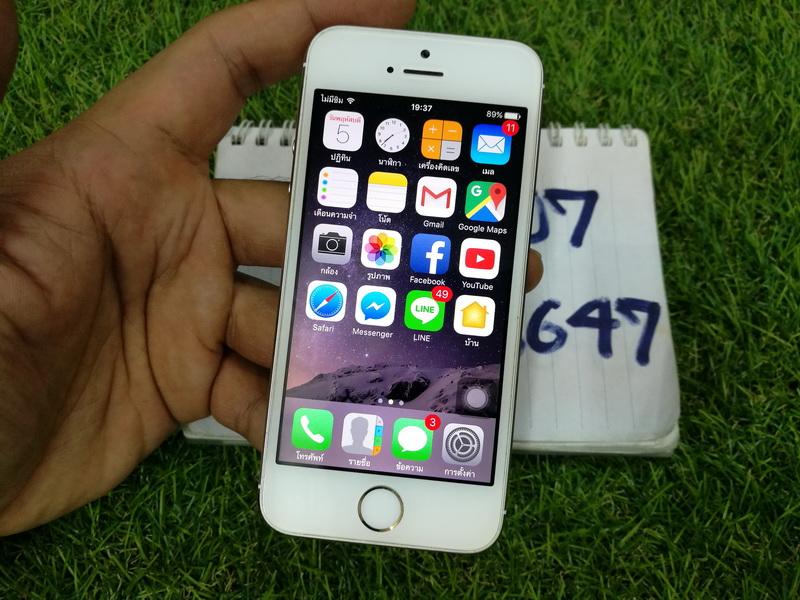 ขาย iPhone 5s สีทอง 16 GB มือ2 สภาพสวย 6900 บาท ครับ
