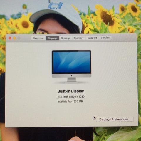 iMac 21.5 Late 2013 i5 2.7 GHz