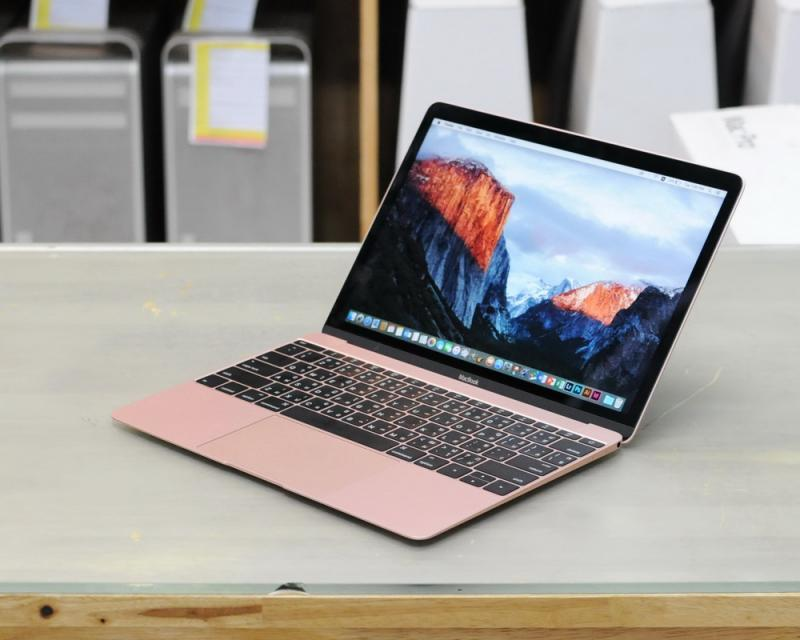 ขาย MacBook 12-inch Early2016 ROSE GOLD Core M3 1.1GHz RAM 8GB SSD 256GB อุปกรณ์ครบกล่อง เครืองใหม่กริ๊บ อายุไม่ถึง2อาทิตย์ ขายไม่แพงครับ