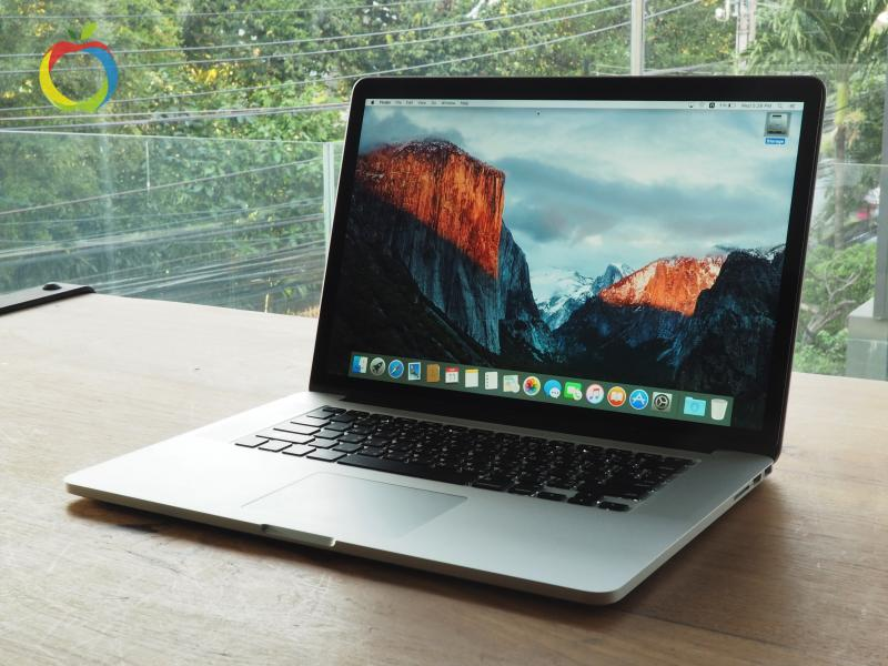 MacBook Pro Retina (15 inch- Mid 2014) i7 2.5GHz RAM 16GB FS 512GB ราคา 49,000 บาท