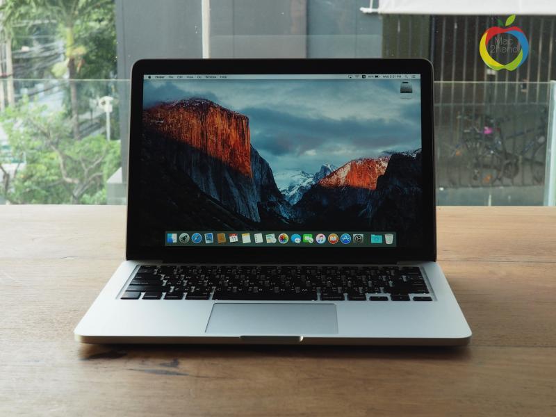 MacBook Pro Retina (13 inch-Mid 2014) i5 2.8GHz RAM 8GB FS 512GB ราคา 36,000 บาท