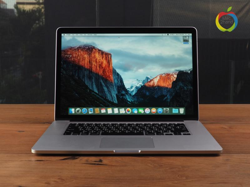 MacBook Pro Retina (15 inch-Mid 2015) i7 2.5GHz RAM 16GB FS 512GB ราคา 64,000 บาท
