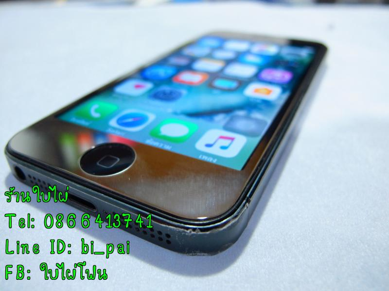 iPhone 5 16gb สภาพมือสอง ใช้งานได้ปกติ ราคา 3900 บาท