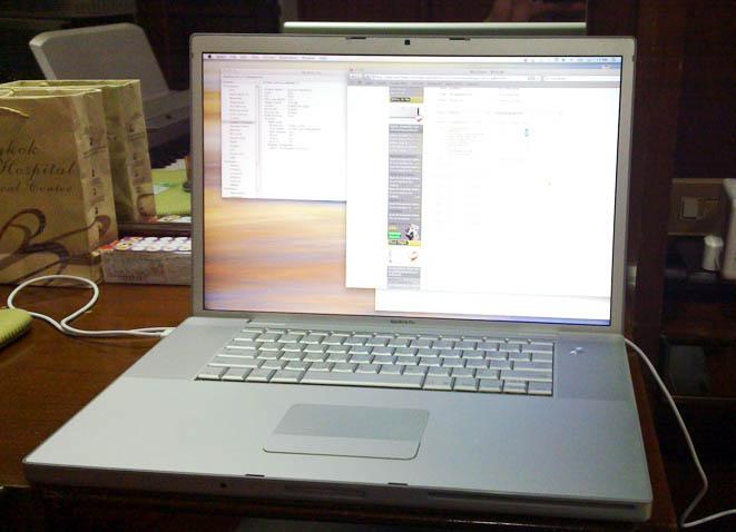 ขาย MacBook Pro 17\